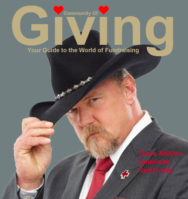 Trace Adkins and the American Red Cross