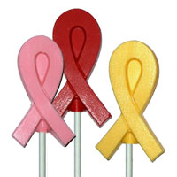 Chocolate Awareness Ribbons